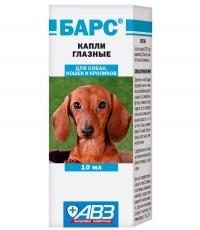 Капли глазные Барс для собак 10мл