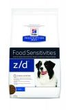 Hill's Диета z/d лечение пищевой аллергии 3кг