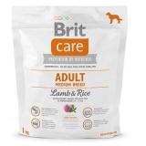 Brit Care для взрослых собак средних пород Ягненок с рисом 1кг