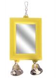 Зеркало Triol с двумя колокольчиками для птиц