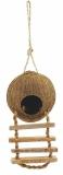Домик Triol из кокоса с лестницей для птиц