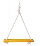 Качель Triol деревянно-веревочная