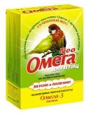 Витамины Омега-3 для птиц с биотином