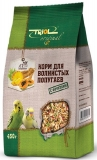 Triol для волнистых попугаев с фруктами 450 г