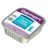 Gemon Cat Sterilized консервы для стерилизованных кошек паштет тунец 100г