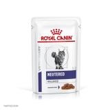 Royal Canin Neutered Balance,корм консервированный для взрослых котов и кошек с момента стерилизации диетический, соус, 0,085кг