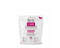 Brit Care для щенков крупных пород Ягненок с рисом 1кг