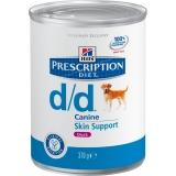 Hill's Диета d/d лечение пищевой аллергии Утка 370г