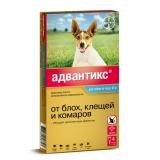 Адвантикс 100С капли от блох и клещей для собак от 4 до 10 кг 1амп Bayer