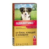 Адвантикс 250С капли от блох и клещей для собак от 10 до 25 кг 1амп Bayer