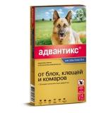 Адвантикс 400С капли от блох и клещей для собак свыше 25 кг 1амп Bayer