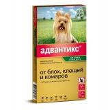 Адвантикс 40С капли от блох и клещей для собак до 4 кг 1амп Bayer