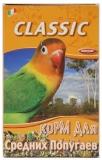 Fiory для средних попугаев Классик 650 г