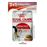 Акция 3+1 Royal Canin Instinctive (соус), 85гр
