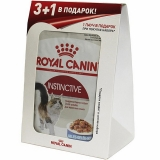 Акция 3+1 Royal Canin Instinctive (желе), 85гр