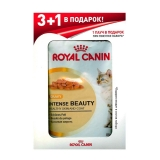 Акция 3+1 Royal Canin Intense Beauty (соус), 85гр