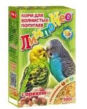 ЛимпоNeo с орехами для волнистых попугаев 500 г