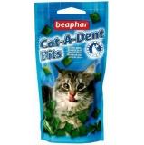 Подушечки Beaphar Cat-a-Dent Bits для чистки зубов у кошек