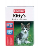 Beaphar Kitty`s Junior витамины для котят 150шт