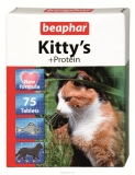 Beaphar Kitty`s Protein Витамины для кошек со вкусом Рыбы ,75 таб.