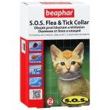 Ошейник Beaphar S.O.S.от блох и клещей для котят с 2 месяцев, 35 см