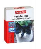 Beaphar Renaletten добавка для кошек с проблемами почек 75таб.