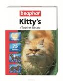 Витамины Beaphar Kitty's для кошек с таурином и биотином 75шт
