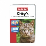 Витамины Beaphar Kitty's микс для кошек 180 шт