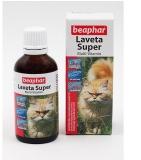 Витамины Beaphar Laveta Super для кошек  50мл