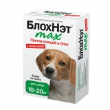 БлохНэт Капли от блох и клещей для собак 10-20 кг