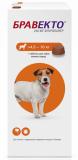 Бравекто Жевательные таблетки от блох и клещей  для собак 4,5-10кг