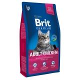 Brit Premium Cat Adult Chicken 800гр