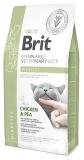 Brit VD Cat Grain free Diabetes беззерновая диета для кошек при диабете 400г.
