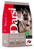 Дарси сухой корм для взрослых собак крупных пород, мясное ассорти 2,5кг