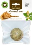 Деревенские лакомства Мятный шар для кошек