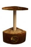 Домик-когтеточка угловой (джут)