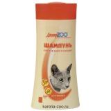 Доктор ZOO Шампунь антипаразитарный для кошек 200мл