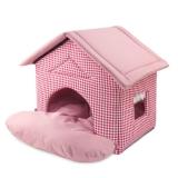 """Дом """"Садовый"""" розовый, 460*500*450"""