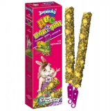 Зверюшки Две палочки лакомство для кроликов травы и кукуруза