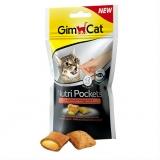 Gimcat Нутри Покетс подушечки с лососем и Омега 3