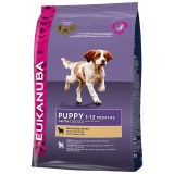 Eukanuba Puppy & Junior Lamb & Rice 12 кг