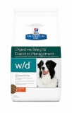 Hill's Диета w/d лечение диабета 1,5кг