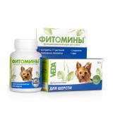 Фитомины для шерсти для собак