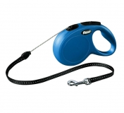 Рулетка Flexi Classic M трос 5м синяя