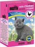 Bozita Mini для котят с Курицей 190гр