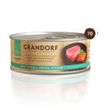 Grandorf Филе тунца с мясом лосося 70гр