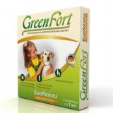 GreenFort Био Капли от блох и клещей для собак мелких пород 1амп