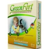 GreenFort Био Ошейник от блох и клещей для кошек 35см