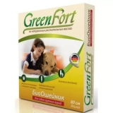 GreenFort Био Ошейник от блох и клещей для собак крупных пород 80см
