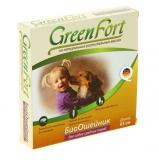 GreenFort Био Ошейник от блох и клещей для собак средних пород 65см